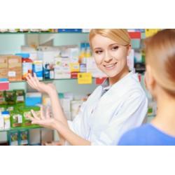 Prevención de riesgos laborales en oficina de farmacia